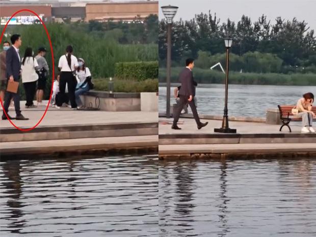 Xem ảnh Lâm Canh Tân - Ngô Cẩn Ngôn hẹn hò ở hậu trường phim mà không tin đây là đôi tình nhân luôn á? - Ảnh 1.