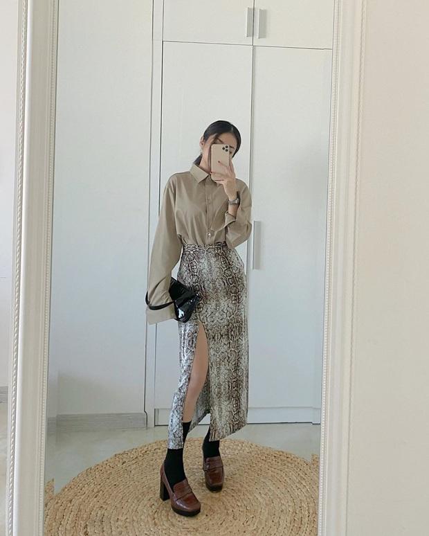 Hội chị em thấp bé phải học ngay các mỹ nhân nổi tiếng cách diện chân váy xẻ, trông cao ráo hơn mà điểm sexy cũng tăng vù vù - Ảnh 14.