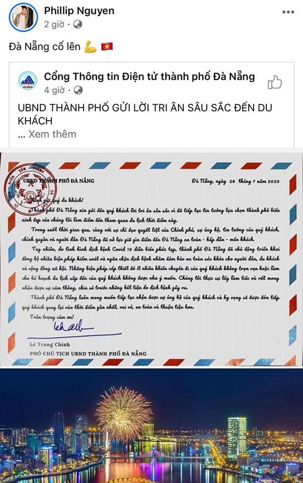 Sao Vbiz lên tiếng giữa tình hình dịch Covid-19 ở Đà Nẵng: Huỷ show, than vãn công việc, nhưng tất cả đều chung lời kêu gọi! - Ảnh 6.