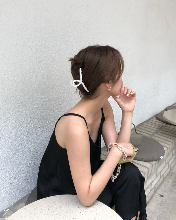 Nàng tóc ngắn cũng diện được kẹp càng cua xinh ngất, lại có tới 2 cách mà cách nào cũng sang  - Ảnh 3.