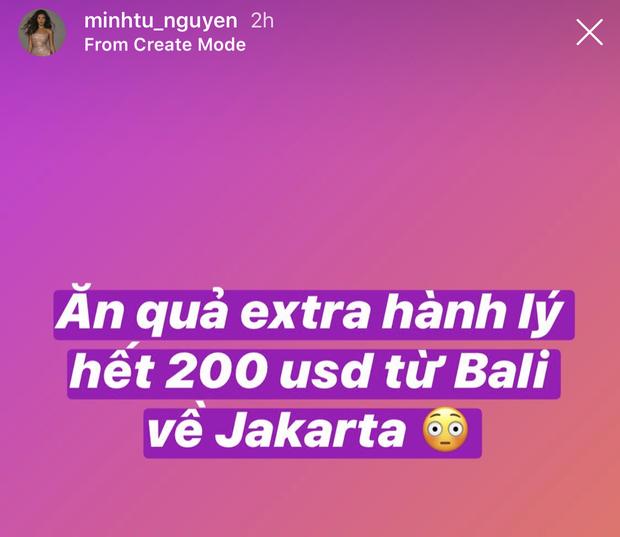 Minh Tú nghẹn ngào vẫy chào từng cành cây, ngọn cỏ ở Bali để trở về, không quên khoe thời trang sân bay siêu chất - Ảnh 7.