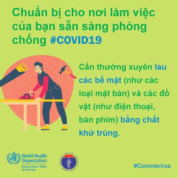 Một vài lưu ý cần nhớ khi đi làm trong thời điểm dịch bệnh COVID-19 có nhiều diễn biến phức tạp - Ảnh 7.