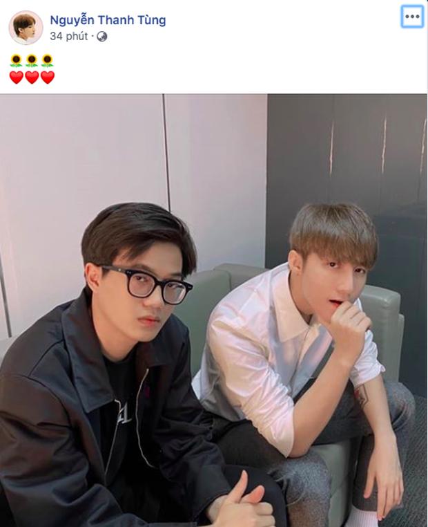 Onionn ngồi cạnh Sơn Tùng M-TP làm fan mất liêm sỉ vì gấp đôi sự đẹp trai, còn nhắn nhủ đầy cảm xúc khiến chủ tịch cũng phải thả tim - Ảnh 3.