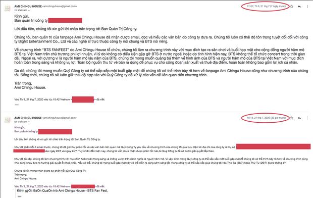 Big Hit đưa ra cảnh báo vi phạm bản quyền, yêu cầu ngừng tổ chức sự kiện Fanfest tại Việt Nam bằng cả 3 thứ tiếng Hàn - Anh - Việt - Ảnh 6.