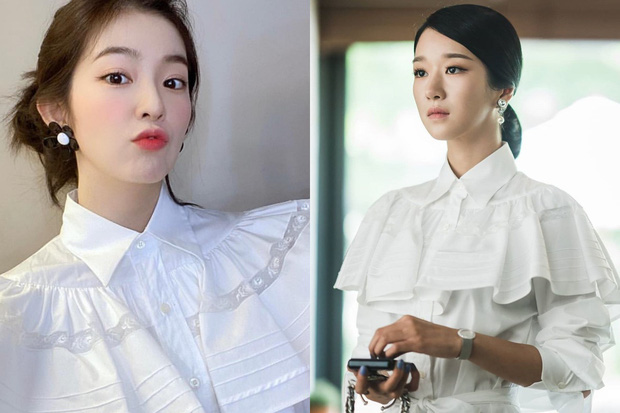 Nhìn Irene và Seo Ye Ji đụng hàng mới thấy khó tin 2 nàng gần bằng tuổi: Người sang như công nương, người trẻ như nữ sinh - Ảnh 7.