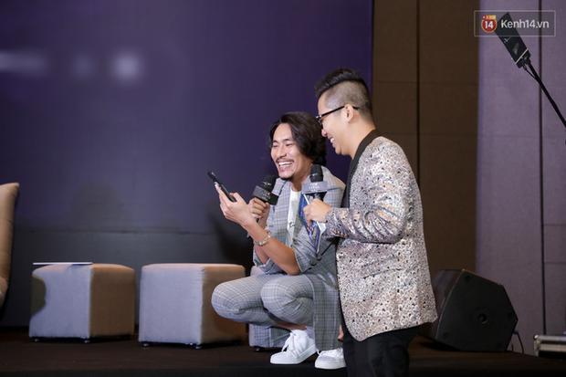 Kaity Nguyễn tự nguyện cách li tại nhà vẫn quyết tâm bóc phốt bồ cũ Kiều Minh Tuấn qua video call ở họp báo Tiệc Trăng Máu - Ảnh 12.