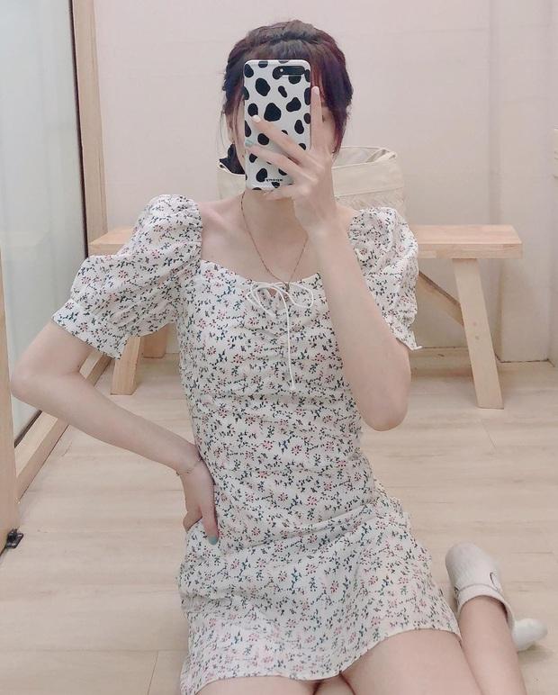 """Váy hoa cổ vuông vừa nữ tính vừa sexy hot rần rần: Ngọc Trinh, Seohyun đều diện, team """"bánh bèo"""" chớ bỏ qua - Ảnh 10."""