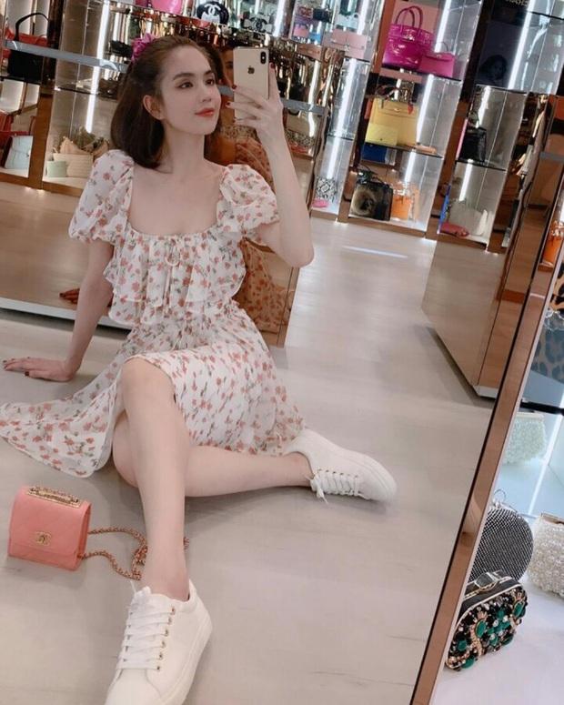 """Váy hoa cổ vuông vừa nữ tính vừa sexy hot rần rần: Ngọc Trinh, Seohyun đều diện, team """"bánh bèo"""" chớ bỏ qua - Ảnh 3."""