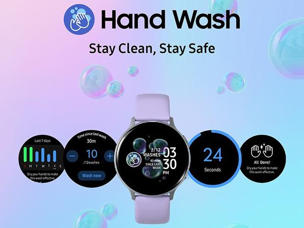 Samsung, Apple cập nhật tính năng Nhắc nhở rửa tay ngay trên smartwatch để phòng tránh Covid-19  - Ảnh 1.