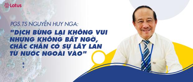 PGS.TS Nguyễn Huy Nga: Dịch bùng lại, không vui - nhưng không bất ngờ, chắc chắn có sự lây lan từ nước ngoài vào - Ảnh 1.