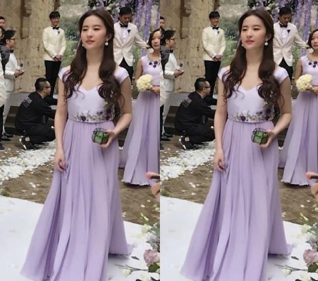 Thần tiên tỷ tỷ Lưu Diệc Phi rất ít khi làm phù dâu đám cưới, xem ảnh xong mới vỡ lẽ ra nguyên nhân vì sao - Ảnh 5.