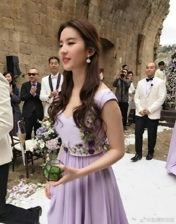 Thần tiên tỷ tỷ Lưu Diệc Phi rất ít khi làm phù dâu đám cưới, xem ảnh xong mới vỡ lẽ ra nguyên nhân vì sao - Ảnh 8.