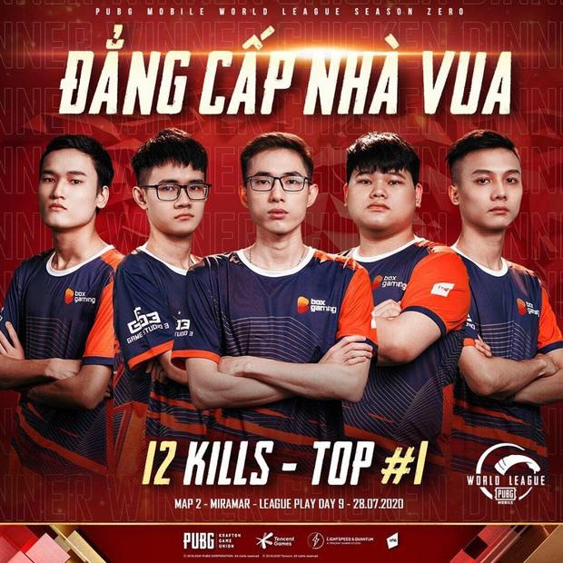 Đại diện Việt Nam thi đấu xuất sắc, giành top 1 tại giải PUBG Mobile thế giới - Ảnh 1.