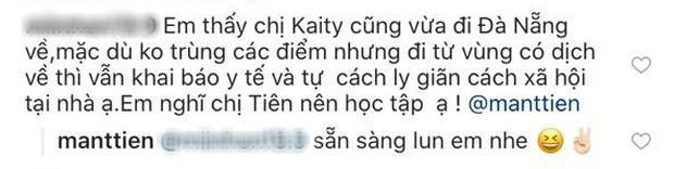 Fan vào tận Instagram Mẫn Tiên nhắc khai báo y tế sau chuyến đi Hội An, hot girl trả lời: Hoàn toàn sẵn lòng - Ảnh 2.