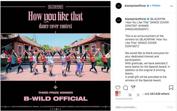 Góc ấn tượng: YG công bố nhóm nhảy Việt Nam xuất sắc rinh giải 3 cuộc thi dance cover How You Like That của BLACKPINK - Ảnh 4.