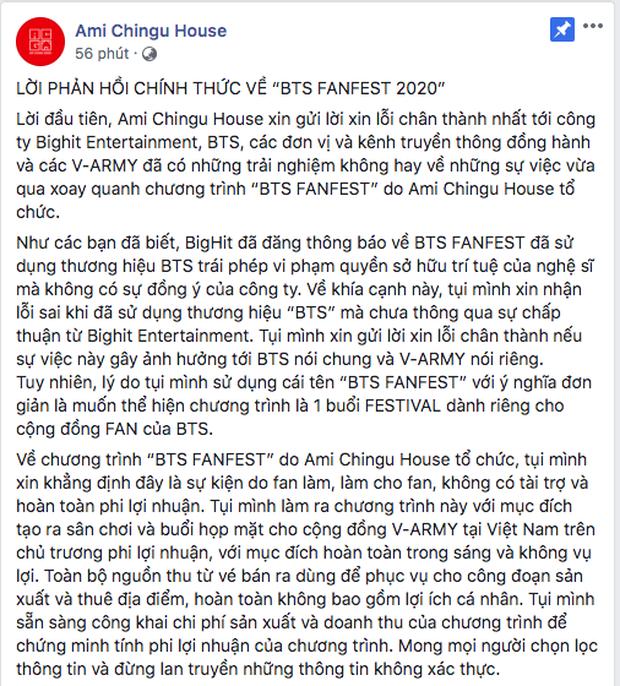 Big Hit đưa ra cảnh báo vi phạm bản quyền, yêu cầu ngừng tổ chức sự kiện Fanfest tại Việt Nam bằng cả 3 thứ tiếng Hàn - Anh - Việt - Ảnh 5.