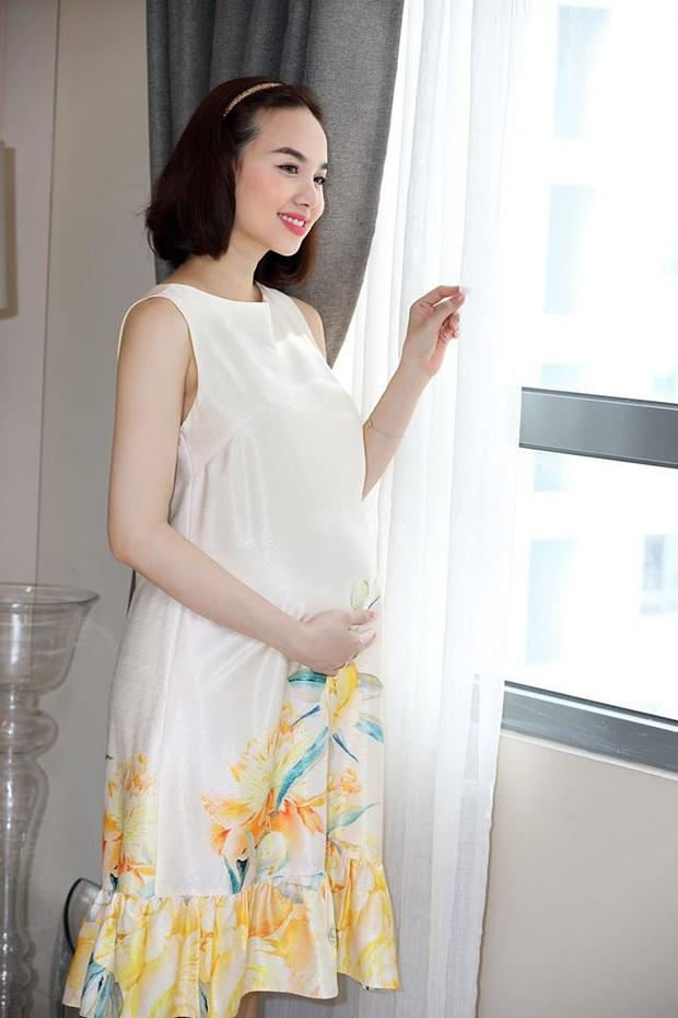 Đinh Ngọc Diệp chính thức xác nhận sắp lâm bồn, khoe bụng bầu to thấy rõ những ngày cuối thai kỳ - Ảnh 4.