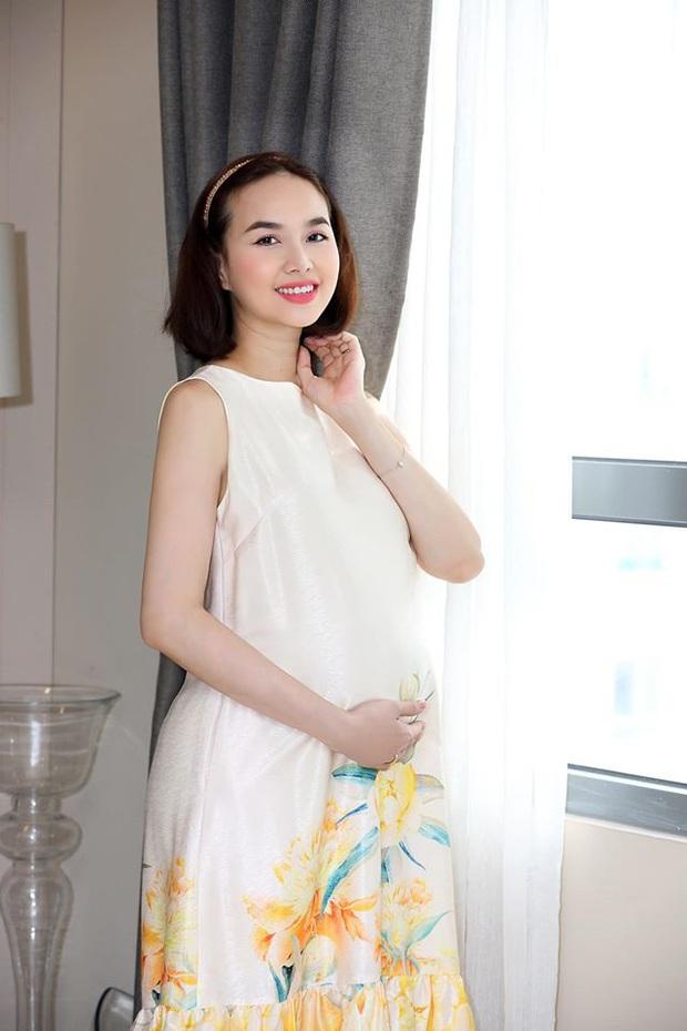 Đinh Ngọc Diệp chính thức xác nhận sắp lâm bồn, khoe bụng bầu to thấy rõ những ngày cuối thai kỳ - Ảnh 5.