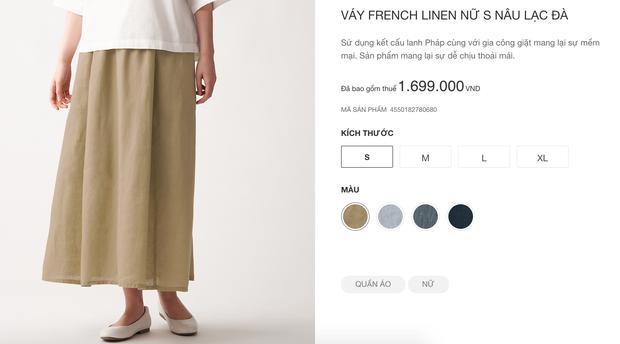 Muji nhanh nhẹn cập nhật sản phẩm tại Việt Nam: Nhiều món skincare và quần áo có giá còn rẻ hơn tại Nhật - Ảnh 12.