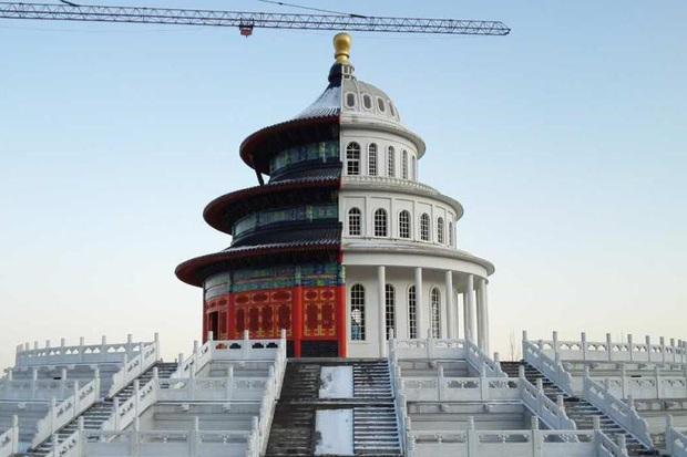 Ghé thăm Hà Bắc - nơi các tòa nhà xấu nhất Trung Quốc tụ tập và đua nhau khoe sắc mỗi ngày - Ảnh 4.