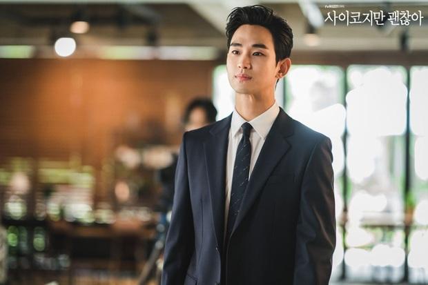Xuề xòa đến phát nản, Kim Soo Hyun lột xác lồng lộn như tổng tài trong ảnh hậu trường: Nhìn ảnh zoom siêu cận mà choáng! - Ảnh 3.