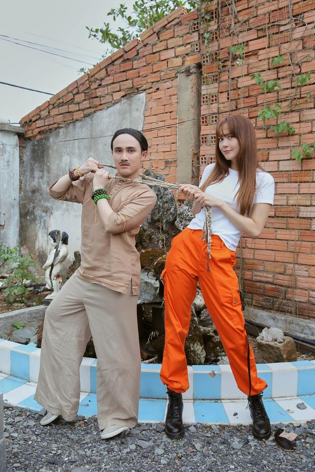 Minh Hằng bị Huỳnh Lập thét giá tiền triệu sau khi xem bói hả hê ở hậu trường Kẻ Săn Tin - Ảnh 5.