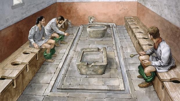 Xem qua loạt ảnh này bạn sẽ hình dung được cách người giàu thời Trung cổ giải quyết nỗi buồn, ngạc nhiên hơn là việc xả thẳng ra môi trường - Ảnh 1.