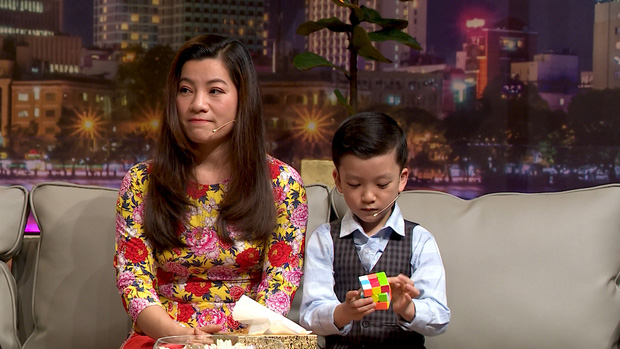 Thần đồng 7 tuổi Quang Bình giải thích về cách ứng xử sau khi chiến thắng đối thủ Siêu trí tuệ - Ảnh 5.