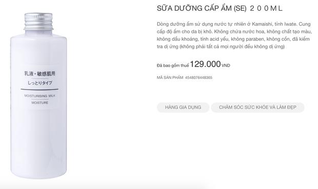 Muji nhanh nhẹn cập nhật sản phẩm tại Việt Nam: Nhiều món skincare và quần áo có giá còn rẻ hơn tại Nhật - Ảnh 7.