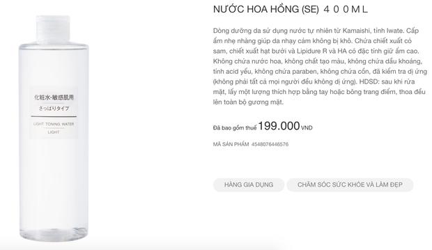 Muji nhanh nhẹn cập nhật sản phẩm tại Việt Nam: Nhiều món skincare và quần áo có giá còn rẻ hơn tại Nhật - Ảnh 5.