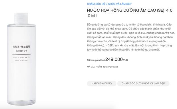 Muji nhanh nhẹn cập nhật sản phẩm tại Việt Nam: Nhiều món skincare và quần áo có giá còn rẻ hơn tại Nhật - Ảnh 6.