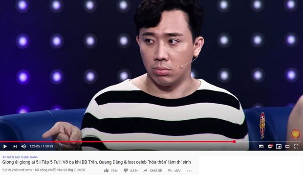 Trấn Thành gây choáng khi có tận 6 video thống trị top trending YouTube - Ảnh 2.