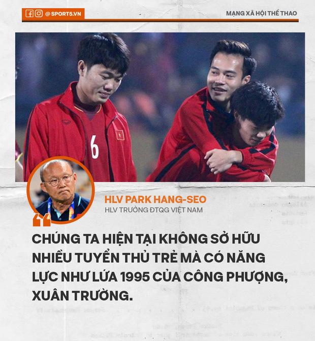 Từ lời than của thầy Park mới thấy giá trị khoản tiền 2.000 tỷ bầu Đức đầu tư cho bóng đá - Ảnh 1.