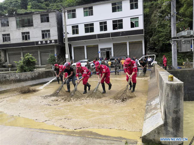 Lũ lụt ở Trung Quốc ngày càng đáng sợ: Hơn 12 triệu người dân phải điêu đứng, thiệt hại lên đến hơn 80 nghìn tỷ đồng - Ảnh 3.