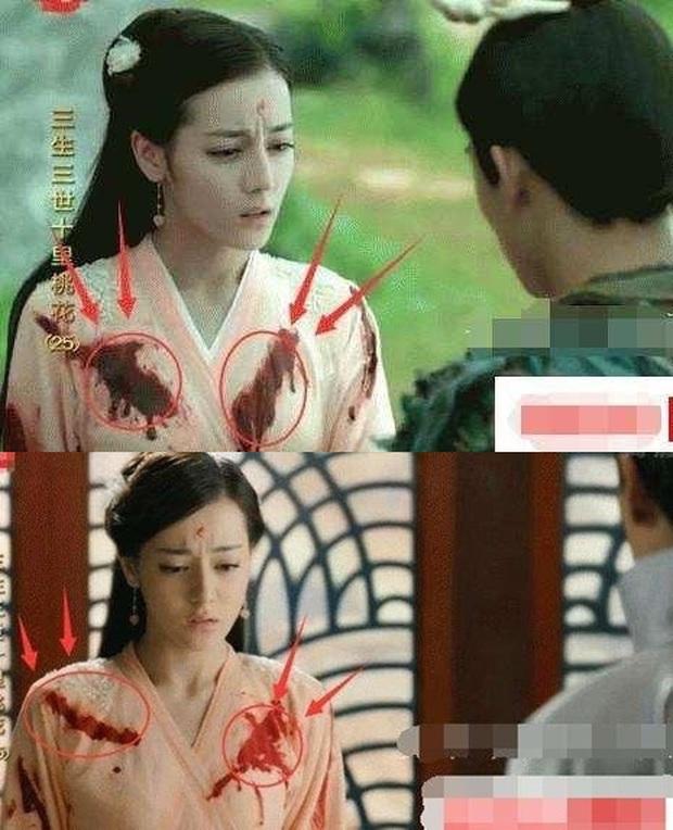 Loạt sạn ngớ ngẩn phim Hoa ngữ khiến diễn viên ngượng chín mặt: Nhọ nhất là Dương Tử bị ekip cho mặc đồ thiếu vải - Ảnh 3.