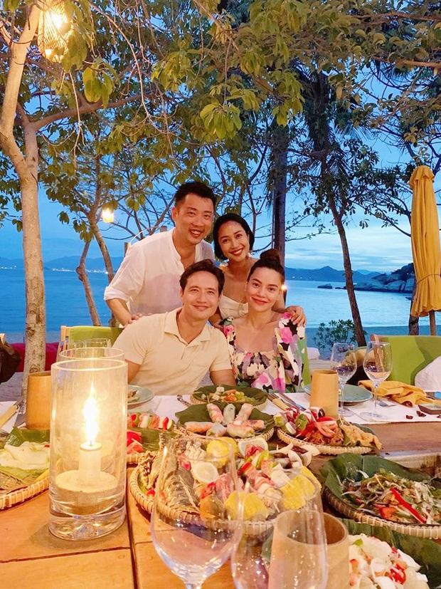 Ốc Thanh Vân hội ngộ gia đình Hà Hồ trong kì nghỉ sang chảnh, tiện dành lời chúc phúc cho mẹ bầu và Kim Lý - Ảnh 3.