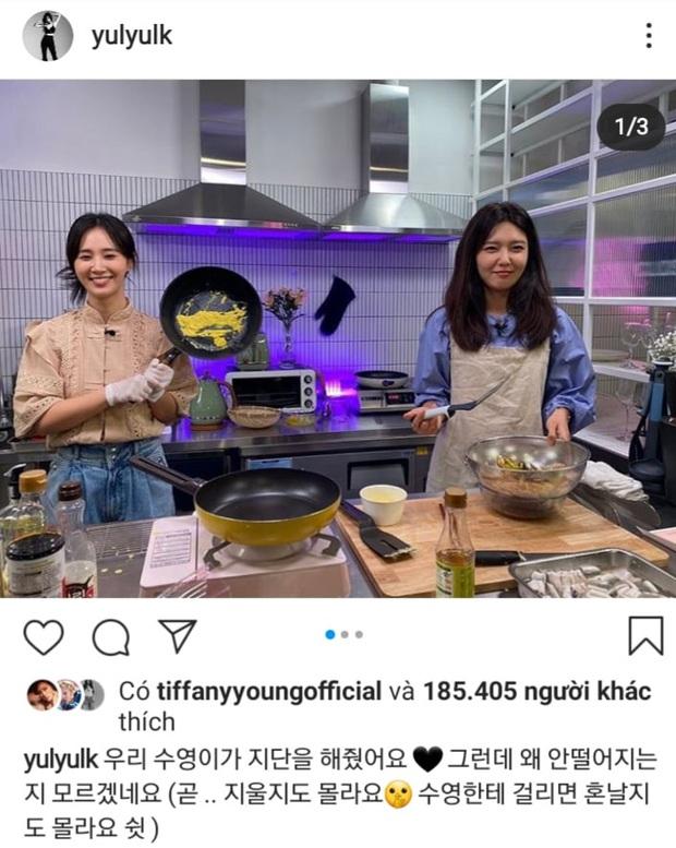 Trổ tài làm trứng rán cần mỡ, Yuri & Sooyoung (SNSD) khiến fan không nhịn được cười khi xem thành quả - Ảnh 6.