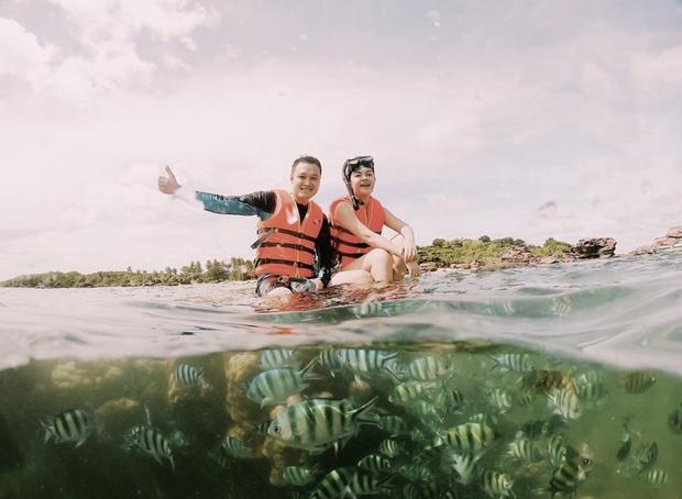 Quang Vinh lên tiếng xin lỗi về sự cố ngồi lên rạn san hô khi quay clip du lịch ở Phú Quốc - Ảnh 1.