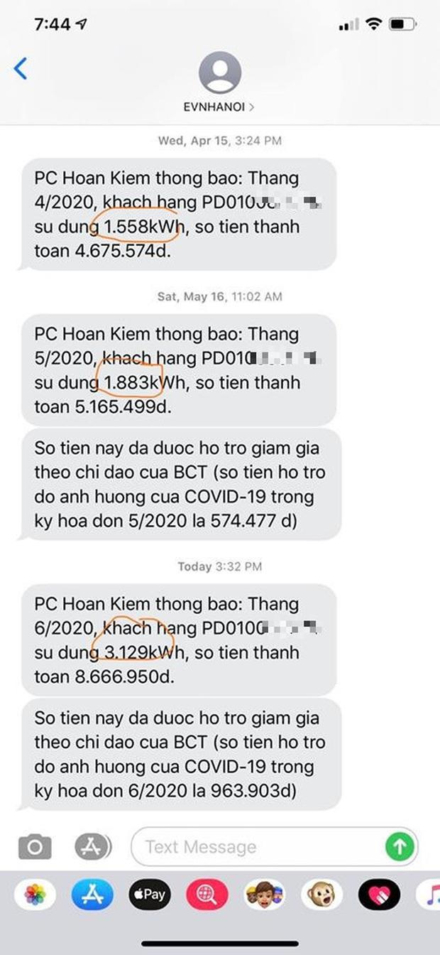 Khách hàng ở Hà Nội thuê luật sư tính việc kiện EVN Hoàn Kiếm do tiền điện tháng 6 tăng vọt - Ảnh 2.