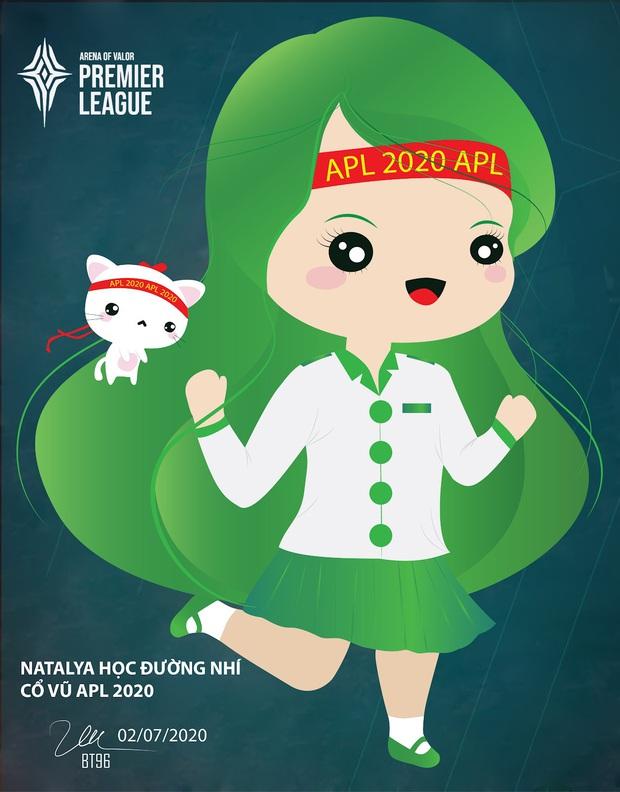 Mê mỹ thuật nhưng lại nghiện game, fan Liên Quân đua nhau vẽ tranh sáng tạo APL 2020 - Ảnh 12.