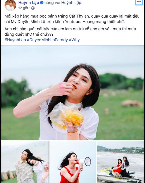 Huỳnh Lập xếp hàng mua bánh tráng kiểu gì mà bay màu luôn MV parody Duyên Mình Lỡ đình đám 2 năm trước thế này? - Ảnh 1.