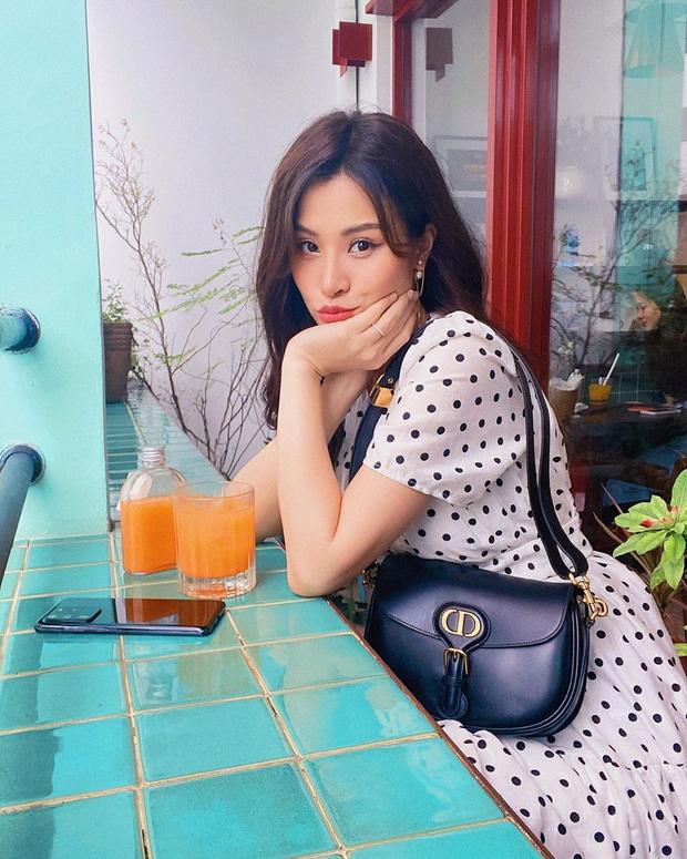 Đồ chấm bi tưởng quê mà lại đang được celeb Hàn - Việt mê tít, càng ngắm càng thấy xinh và muốn tậu ngay một em - Ảnh 5.