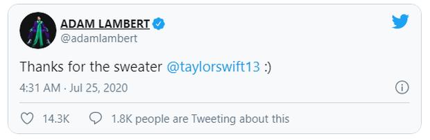 Taylor Swift tặng áo cardigan cho dàn sao Hollywood để quảng bá MV mới nhưng ý nghĩa đằng sau mới thực sự ấm lòng - Ảnh 8.