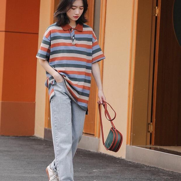 Jisoo lăng xê áo polo đơn giản nhưng diện lên cực hay ho, chị em nên vào học để cải tổ lại style - Ảnh 8.