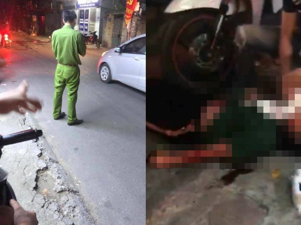 Hà Nội: Vừa bước ra khỏi tiệm thuốc tây, cô gái bất ngờ bị nam thanh niên cầm dao đâm gục giữa đường - Ảnh 1.