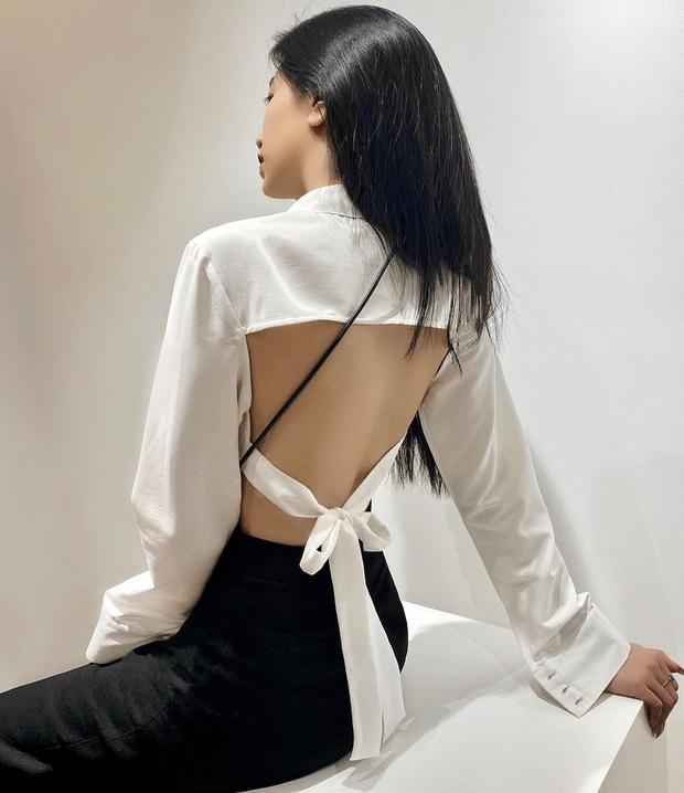 Kiểu áo kín trước hở sau Linh Ngọc Đàm diện đang cực hot, nghệ thuật ăn mặc sexy mà không phô chính là đây - Ảnh 14.