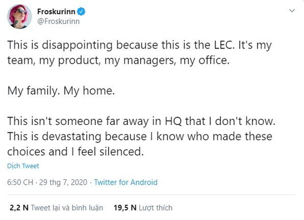Giải vô địch LMHT châu Âu (LEC) hủy hợp đồng với đối tác vì nhận quá nhiều gạch đá từ cộng đồng LGBT - Ảnh 5.