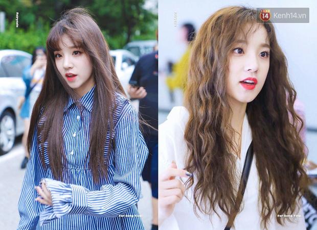 """12 idol """"biến hình"""" từ tóc thẳng sang tóc xoăn: Người xinh nữa xinh mãi, người hao hụt vài điểm visual - Ảnh 10."""