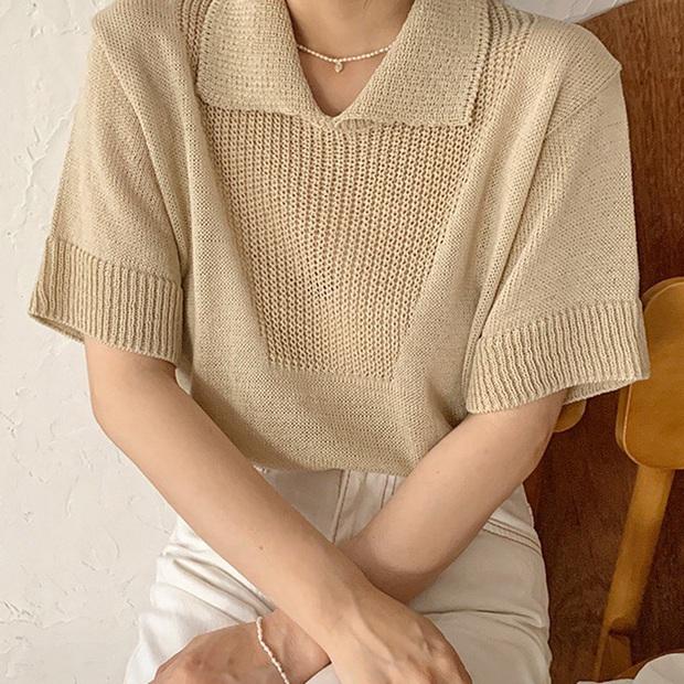 Jisoo lăng xê áo polo đơn giản nhưng diện lên cực hay ho, chị em nên vào học để cải tổ lại style - Ảnh 10.