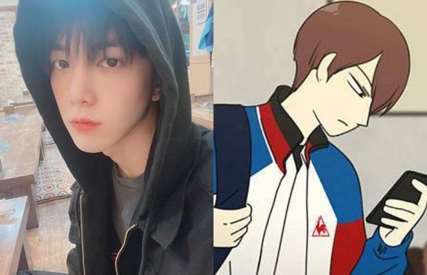Park Ji Hoon để tóc úp tô đều tăm tắp như thuở mới vào nghề khiến fan phát cuồng - Ảnh 3.
